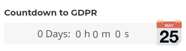 countdown-to-GDPR