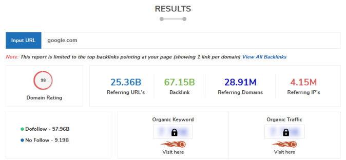 Google link building stats