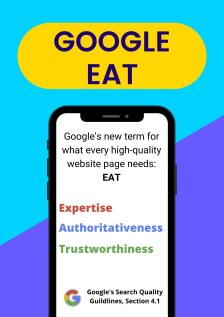 Google e-a-t info